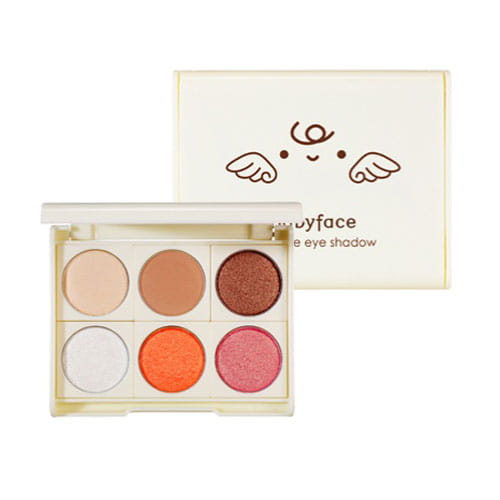 Компактные тени  It's Skin Babyface Mini Love Eye Shadow Case