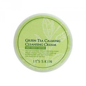 Питательный крем для кожи It's Skin Green Tea Calming Cleasing Cream 200ml