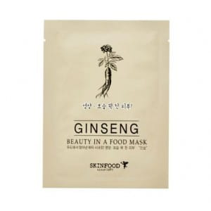 Листовая маска с женьшенем Skinfood Beauty in a food mask sheet GINSENG