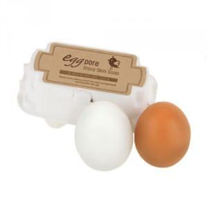 Матирующее  мыло для утреннего и вечернего очищения кожи лица Tony Moly Egg Pore Shiny Skin Soap 50g * 2ea