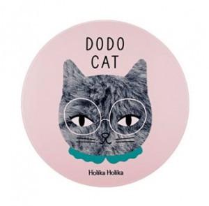 Кушон с тональным эффектом и хайлайтером Holika Holika Face 2 Change Dodo cat Glow Cushion BB 15g