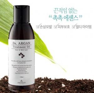 Масло для волос The skin house Dr.ARGAN Treatment Oil 150ml
