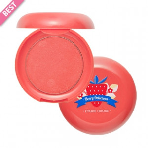 Кремовые румяна ETUDE HOUSE Berry Delicious Fresh cream Blusher 6g