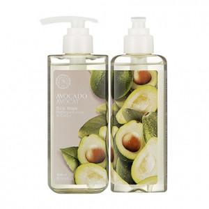 Гель для душа с авокадо THE FACE SHOP Avocado Body Wash 300ml