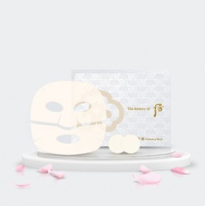 Осветляющая маска The History Of Whoo Gongjinhyang Seol Radiant Whitening Mask (8ea + Patch8EA)
