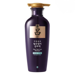 Шампунь против выпадения волос для чувствительной кожи головы RYOE Jayangyunmo Anti-hair loss Shampoo (For Sensitive Scalp) 400ml