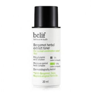 Увлажняющий тонер с экстрактом бергамота BELIF Bergamot Herbal Extract Toner 20ml