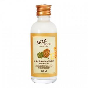Сыворотка для жирной и проблемной кожи лица Skinfood Parsley and Mandarin Emulsion 160ml.