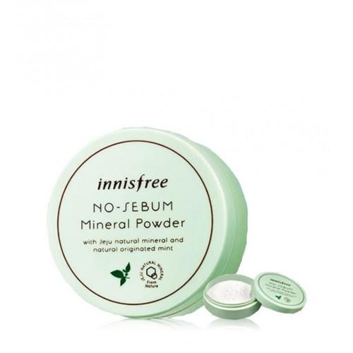 Минеральная матирующая пудра INNISFREE No-Sebum Mineral Powder 5g