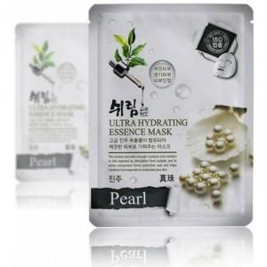 Увлажняющая маска с экстрактом жемчуга Shelim Ultra hydating essence mask [Pearl] *10шт