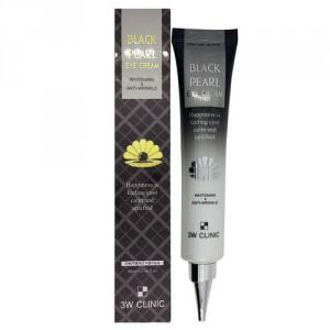 Крем для глаз с экстрактом черного жемчуга 3W Clinic Black pearl eye cream 40ml