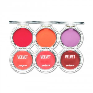 Румяна Peripera Pure blushed velvet cheek (pink moment) 4g