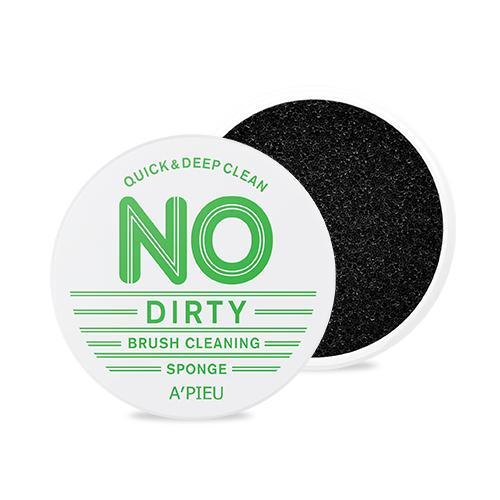Очищающий спонж Apieu No dirty brush cleaning sponge 1ea