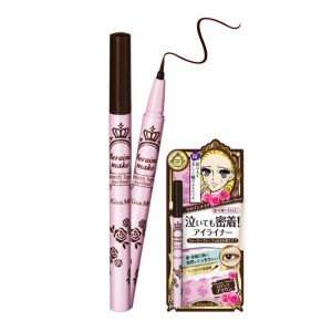 Кисть –лайнер Kissme Heroin make smooth liquid eyeliner _brown
