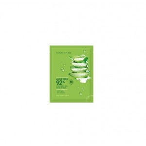 Увлажняющая маска с алоэ Nature Republic Soothing & moisture aloe vera 92% soothing gel mask sheet 30g