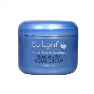 Увлажняющий улиточный крем So Leaf Snail mucus aqua cream 100g