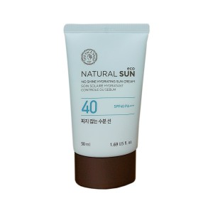 Солнцезащитный крем с увлажняющим эффектом The Face Shop Natural sun eco no shine hydrating sun cream spf 40 pa+++ 100ml