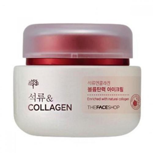 Крем-лифтинг для век The Face Shop Pomegranate and collagen volume lifting eye cream 50ml