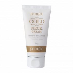 Крем для шеи и зоны декольте Petitfee Gold neck cream 50g
