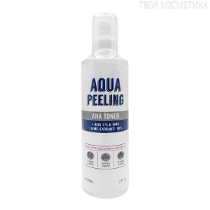 Тонер с АНА-кислотами Apieu Aqua peeling aha toner 275ml