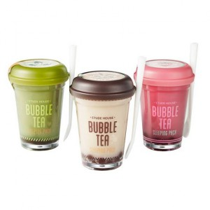 Ночная маска Etude House Bubble tea sleeping pack