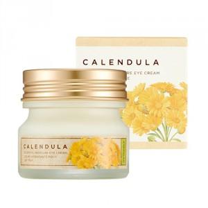 Увлажняющий крем с экстрактом календулы The Face Shop Calendula essential moisture cream 50ml