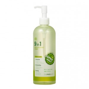 Тонер 9 в 1 The Face Shop 9in1 skin solution toner 400ml