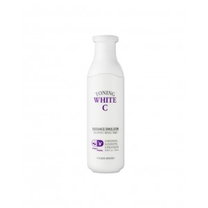 Отбеливающая эмульсия Etude House Toning white c clear radiance emulsion 180ml