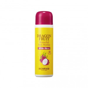 Увлажняющий солнцезащитный тонер Skinfood Dragon fruit waterful sun stamp 45ml spf50+ pa+++