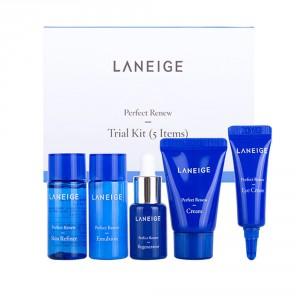 Комплект регенерирующих средств для лица Laneige Perfect renew trial kit 5items