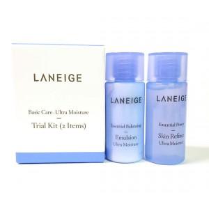 Комплект увлажняющих средств Laneige Basic care ultra moisture trial kit (2 items)