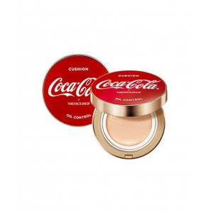 Тональная основа-кушон The Face Shop Coca cola oil control water cushion 15g