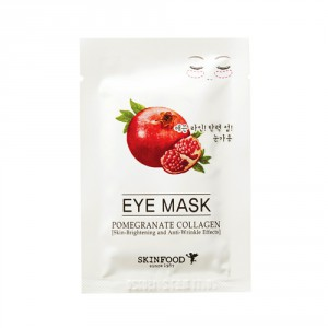 Коллагеновые патчи для век Skinfood Pomegranate collagen eye mask