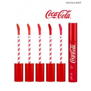 Тинт для губ The Face Shop Coca Cola lip tint 3.1g