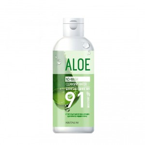 Мицелярная вода Aritaum Aloe no wash cleansing water 300ml