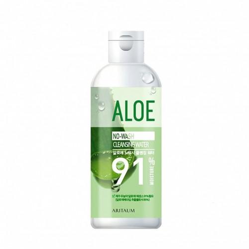 Мицелярная вода Aritaum Aloe no wash cleanging water 300ml