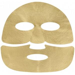 Антивозрастная маска с экстракт икры Holika Holika Prime youth gold caviar gold foil mask 25g