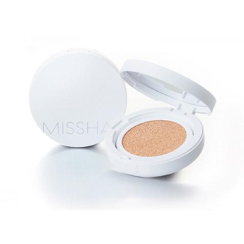 Увлажняющий кушон с солнцезащитным эффектом Missha Magic cushion moist up spf50+ pa+++ 15g