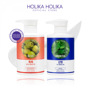 Очищающий крем для лица Holika Holika Daily fresh cleansing cream 430ml