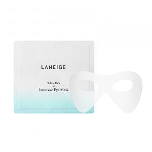 Интенсивно осветляющая маска для кожи вокруг глаз Laneige White dew intensive eye mask 10ml