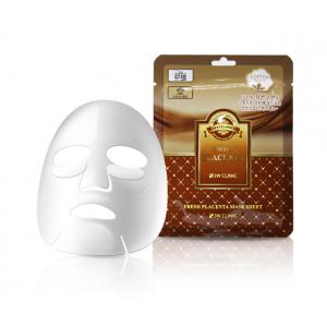 Комплект из 10 листовых масок с плацентой 3w Clinic Fresh mask sheet [placenta] x10sheet