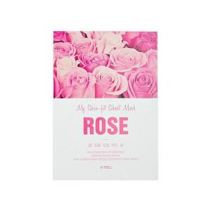 Тканевая маска с экстрактом розы A'PIEU My Skin-Fit Sheet Mask Rose э