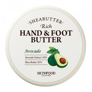 Питательное масло ши с авокадо для рук и ног Skinfood Shea Butter rich hand & foot butter (avocado) 60ml