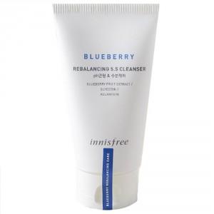 Балансирующая пенка Innisfree Blueberry rebalancing 5.5 cleanser 100ml
