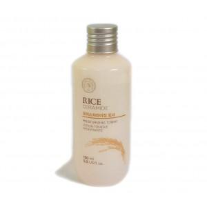 Увлажняющий тонер The Face Shop Rice & ceramide moisturizing toner 150ml