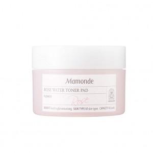 Тонер-подушечки с розовой водой Mamonde Rose water toner pad 40 шт