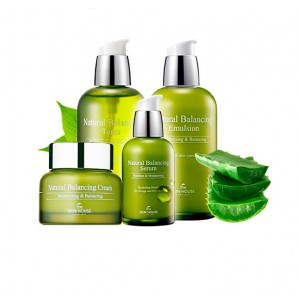 THE SKIN HOUSE Natural Aloe 4 items Set