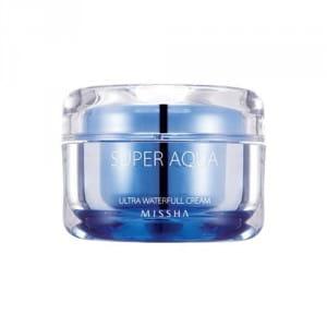 Ультраувлажняющий крем для лица Missha Super aqua waterfull cream 47 ml.