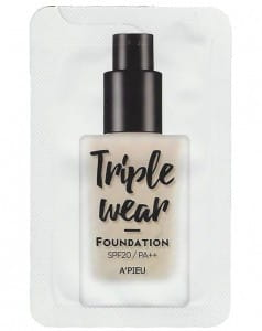 A'PIEU Triple Wear Foundation SPF20 PA++ 2ml*10ea