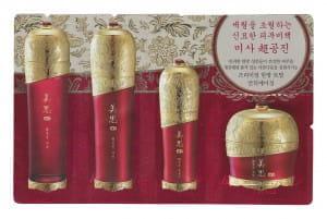 Комплект антивозрастных пробников Missha Chogongjin 4item (1ml+1ml+1ml+1ml)*10шт